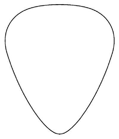 help budrock design a guitar pick. Black Bedroom Furniture Sets. Home Design Ideas
