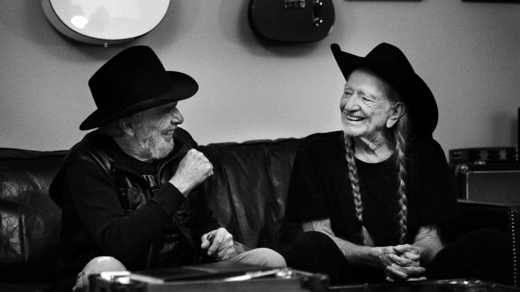 Willie Nelson andMerle Haggard's new album, Django And Jimmie, comes out June 2