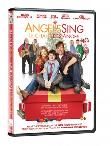 Angels Sing starring Harry Connick, Jr., Willie Nelson and Connie Britton available in stores December 2. (CNW Group/Entertainment One)