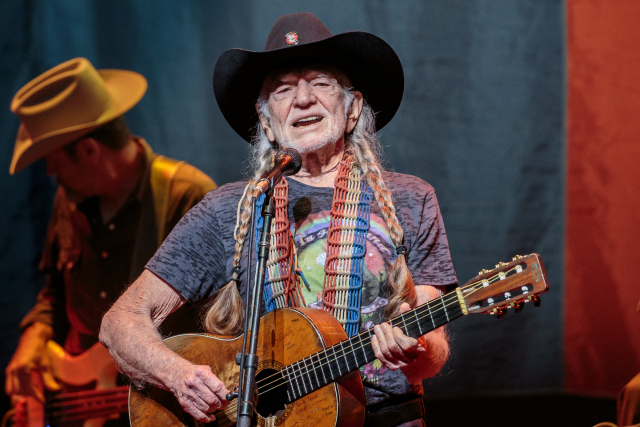 12-29-15 Willie Nelson performs during the Willie Nelson & Family New Year concert at ACL LIve at the Moody Theater. Suzanne Cordeiro for American-Statesman