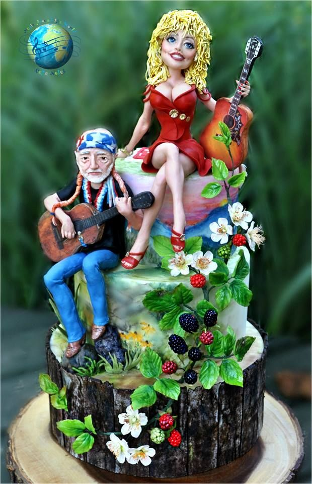 Willie And Dolly Cake Stillisstillmoving